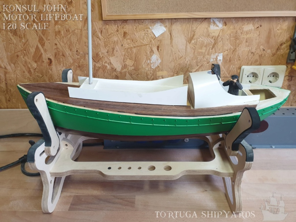 classic german lifeboat - Konsul John Konsul24