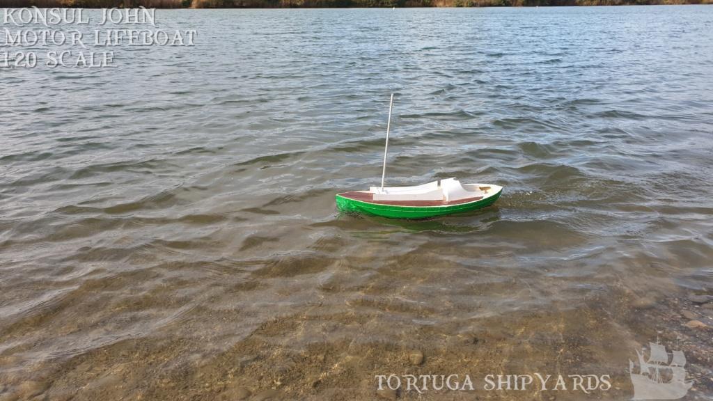 classic german lifeboat - Konsul John Konsul25