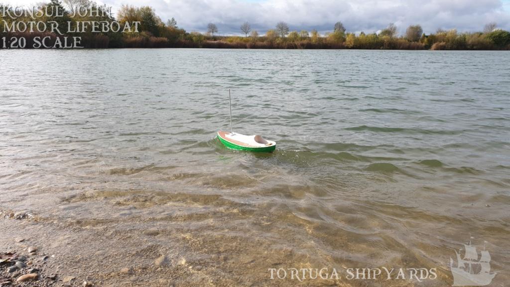 classic german lifeboat - Konsul John Konsul26