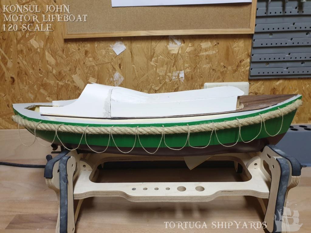 classic german lifeboat - Konsul John Konsul28