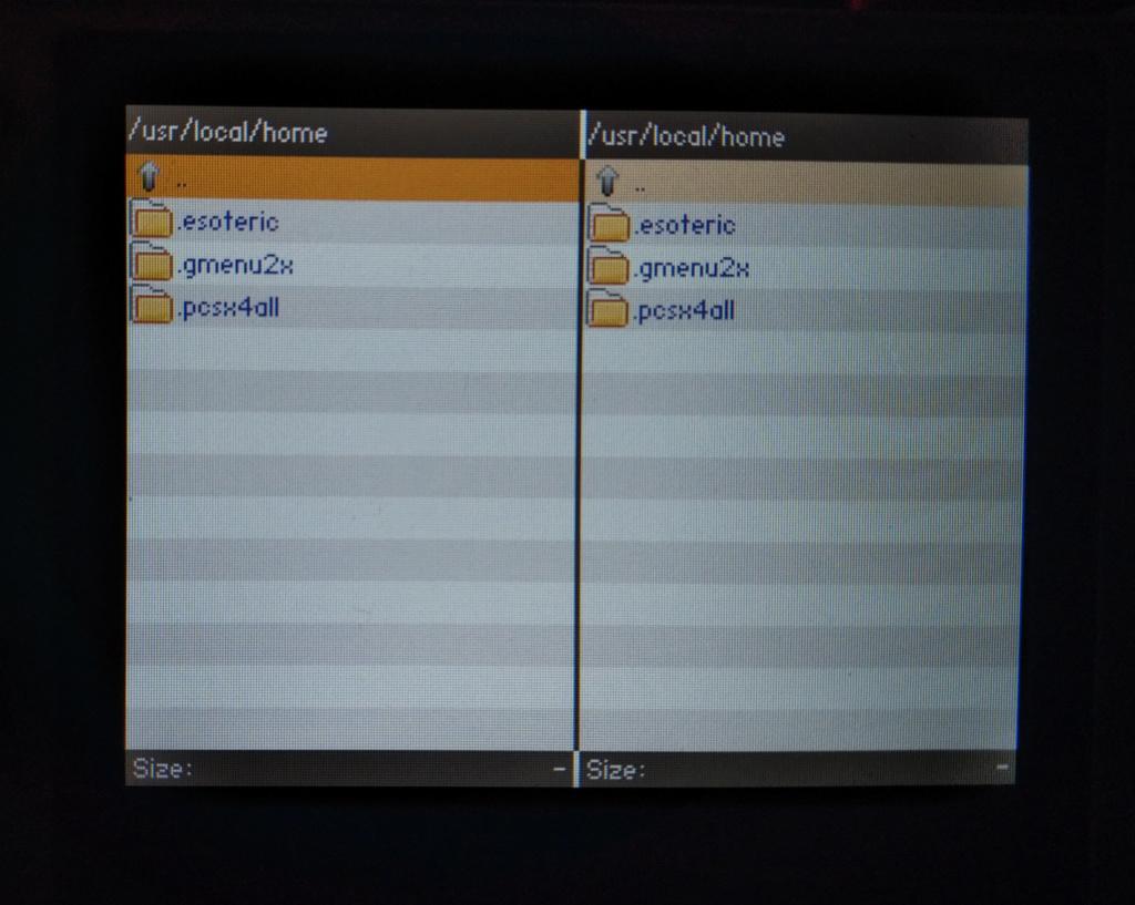 Problème étrange lorsque ma console (RG350) est connectée en FTP... 0310