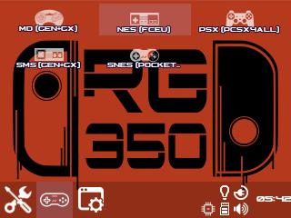 """Mon Skin """"O"""" pour RG350 (esoteric) + tuto d'installation (lien mis à jour le 27.05) Screen17"""
