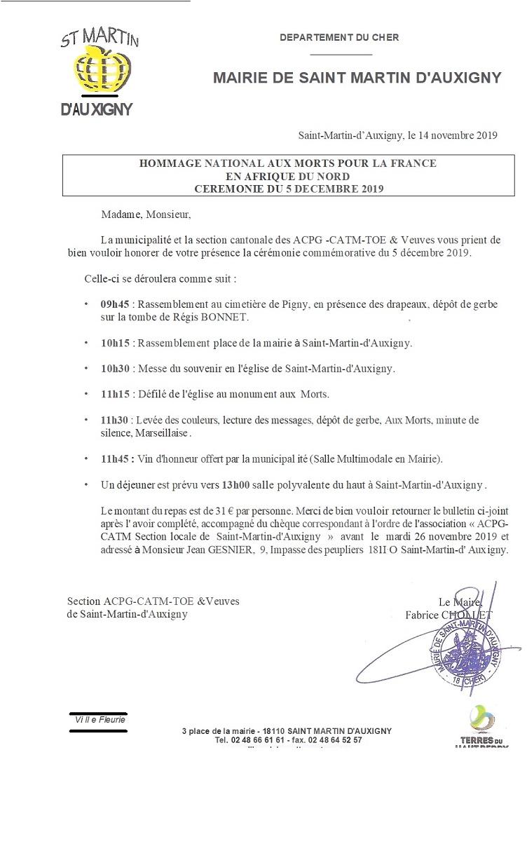 2019/12/05 Hommage aux Morts pour la France - Saint Martin d'Auxigny 5_dzoc11