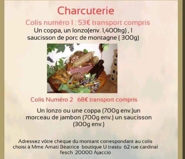 2019/12/09 Deux colis de charcuterie Charcu10