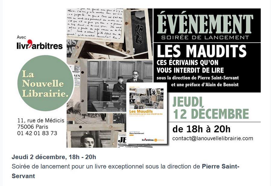 2019/12/09 Rencontres et soirées à la Nouvelle Librairie Librai11