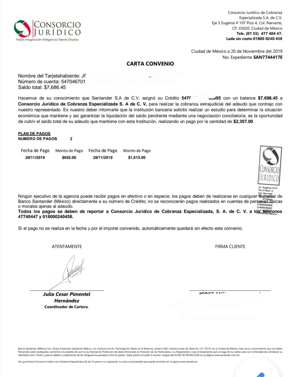 Carta convenio de Santander y consorcio jurídico Img-2011