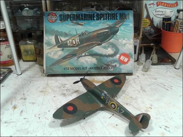 [Heller] Spitfire 1A -Fini. 20210542