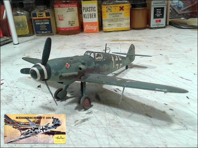 [Heller] Messerschmitt Me 109 K-4 ----- F I N I ----- - Page 2 20210719