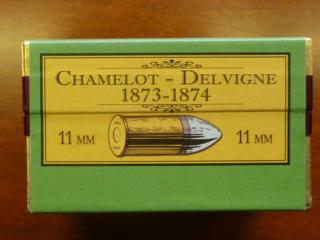 Reproduction boîte de munitions pour 1873 187310