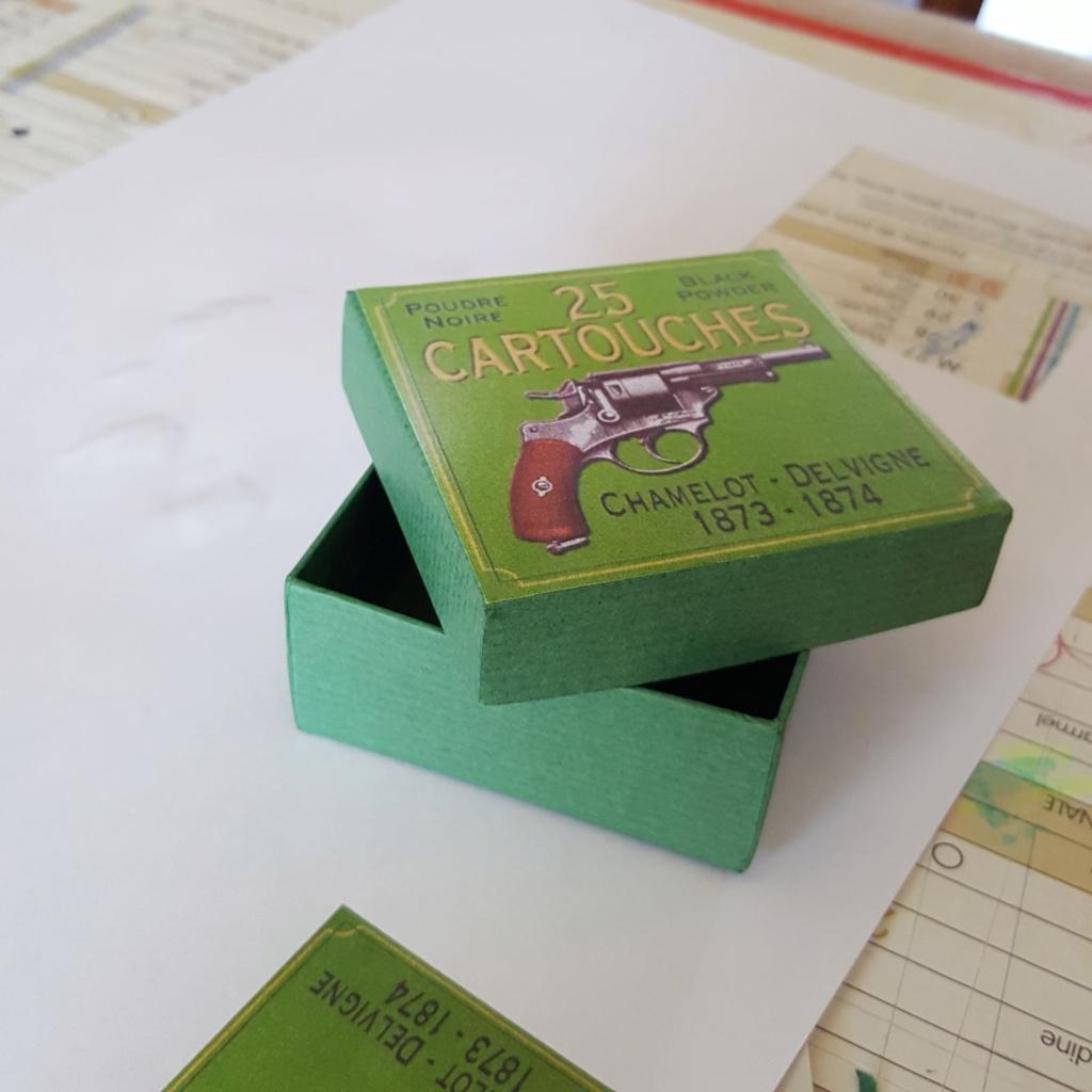 Reproduction boîte de munitions pour 1873 20200410