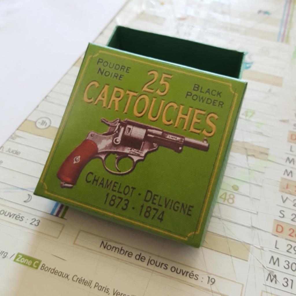 Reproduction boîte de munitions pour 1873 20200411