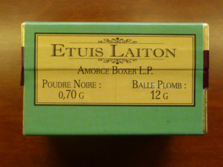 Reproduction boîte de munitions pour 1873 52250011