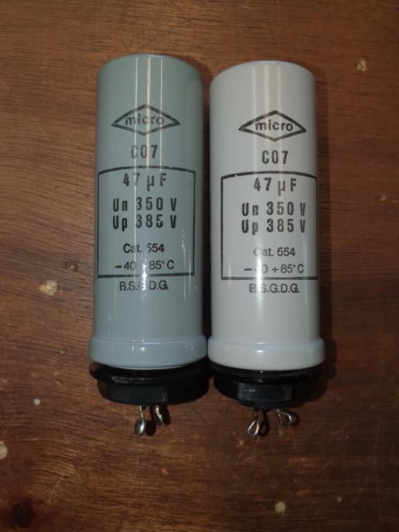 Condensateurs chimiques militaires MICRO type P Condo_10