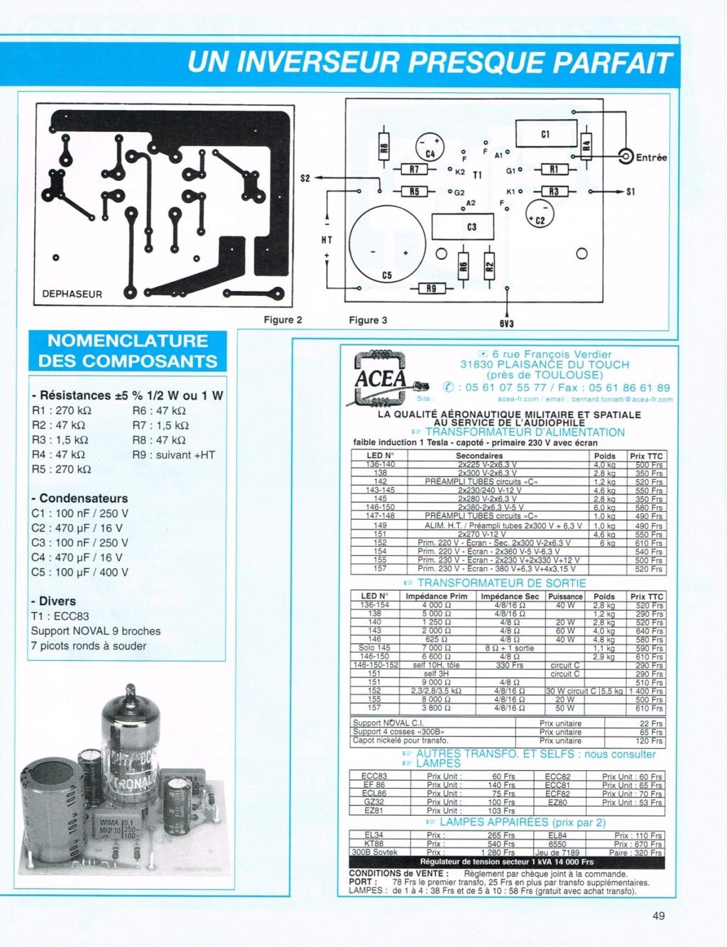 Les déphaseurs à tubes pour Push-Pull Double11
