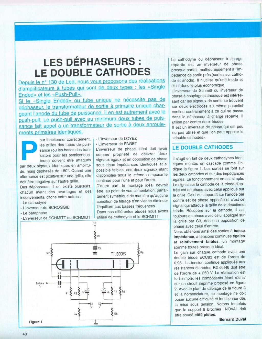 Les déphaseurs à tubes pour Push-Pull Double12