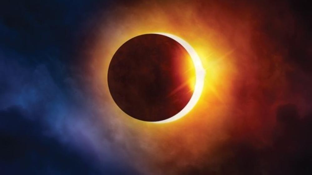 كسوف حلقي للشمس يوم غد الاحد 21.6.2020 11281810