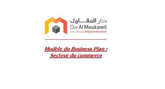 Modèle du Business Plan : Secteur du commerce Busnes10