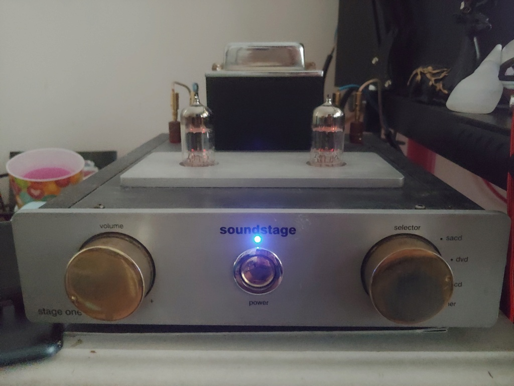 Soundstage Stage 1 Tube Amplifier 20210311