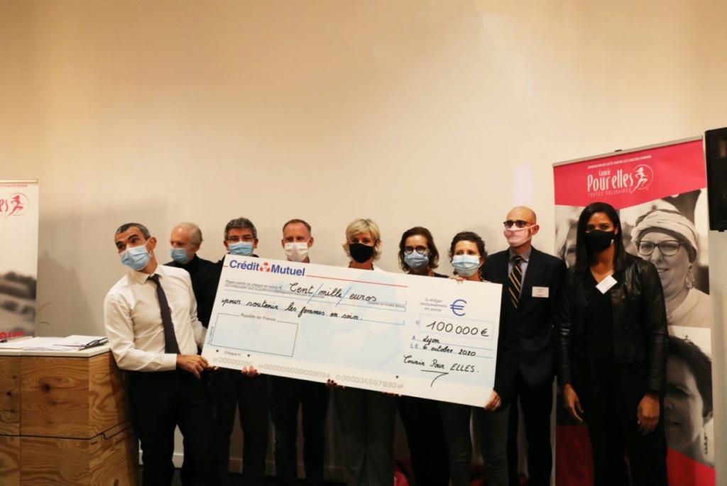 Courir POUR ELLES : 100 000€ dédié au soutien des femmes en soin Remise11