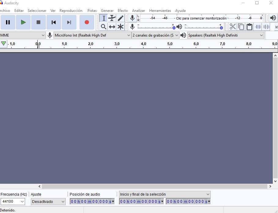 Tutorial: Cómo editar y grabar tu voz con Audacity Audaci10