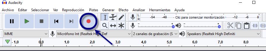 Tutorial: Cómo editar y grabar tu voz con Audacity Audaci11