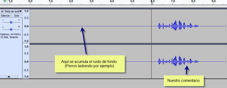 Tutorial: Cómo editar y grabar tu voz con Audacity Audaci12