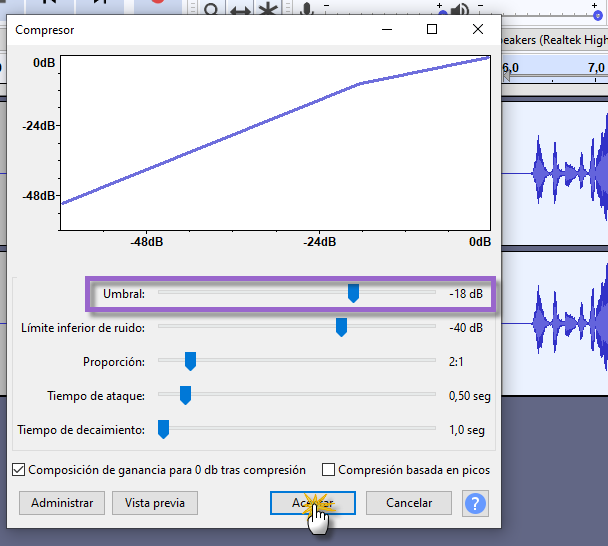 Tutorial: Cómo editar y grabar tu voz con Audacity Audaci22