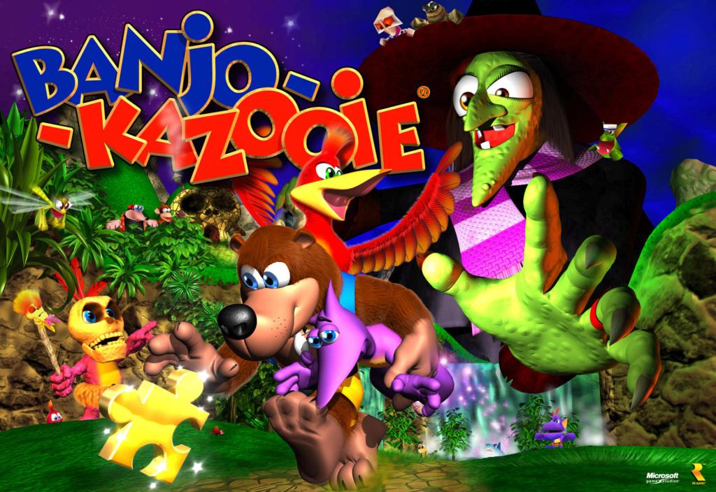 Hablemos de la Saga de Banjo y Kazooie Dtrex310
