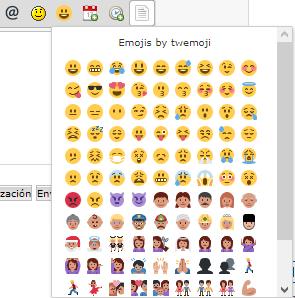 Nuevo: Los Emojis de twitter ahora están disponibles en el editor Imagen39
