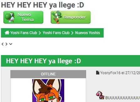 Cómo Postear en Yoshi Fans Club Nuevos10