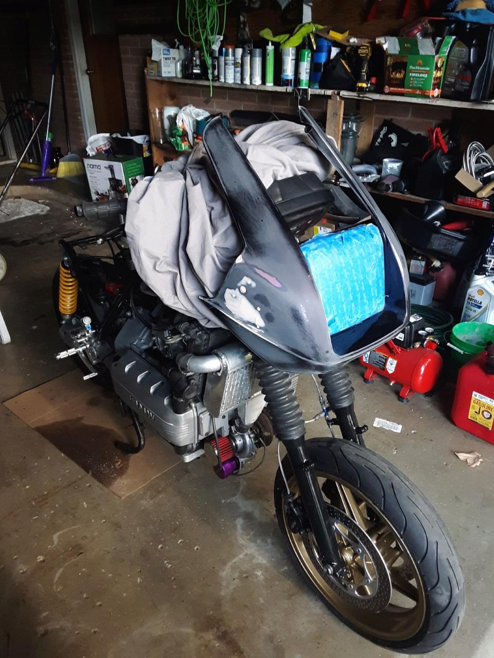 '85 K100RS Turbo Frankenbike Fairin10
