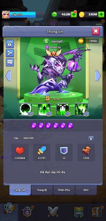 hack TapTap Heroes thành công rồi, tuyệt vời quá yeaaaaaaa 17897510