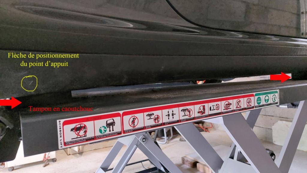 Pont ciseaux 3.5T hauteur max 1m pour ma 997 4S phase2 Tampon10