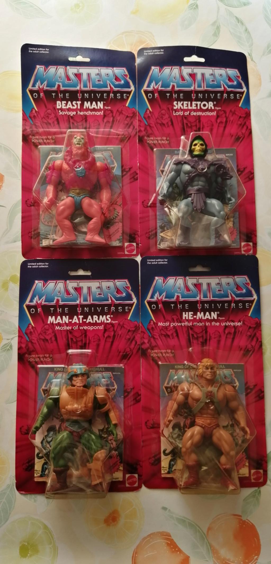 vendo lotto 4 personaggi masters of the universe commemorative Img_2012