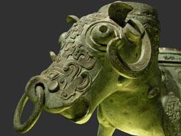 La sculpture chinoise ancienne Bronze12