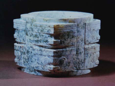 La sculpture chinoise ancienne Cong_j10