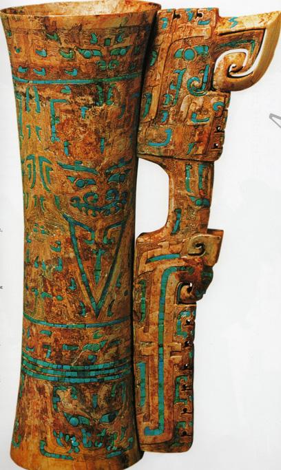 La sculpture chinoise ancienne Dame_h10