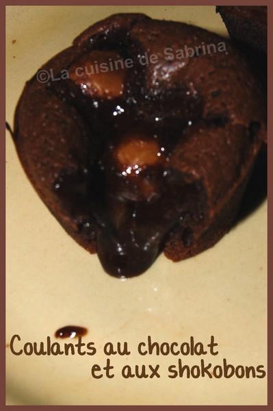 Coulants au chocolat et aux shokobons Dsc_4911