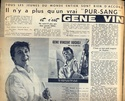 "ARTICLE DE ""CINE MUSIC MAGAZINE"" DU 8 AOUT 1962 Numari11"