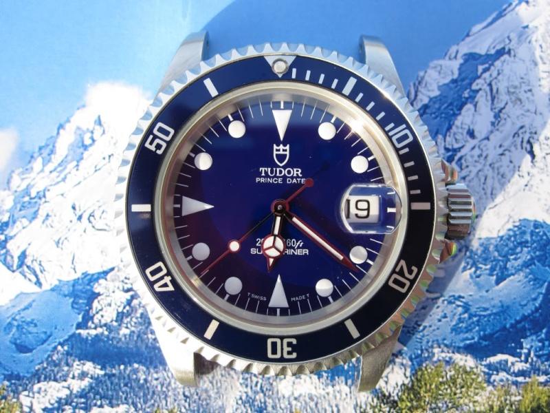 Feu de vos montres à cadran bleu clair Blue_711