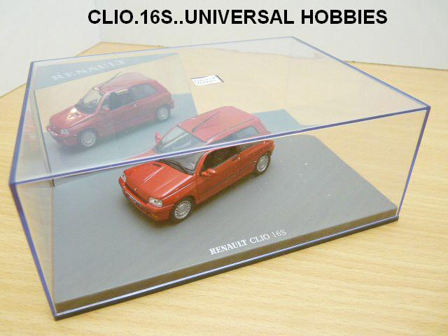 nouvelles sorties 1/43 ieme Clio1610