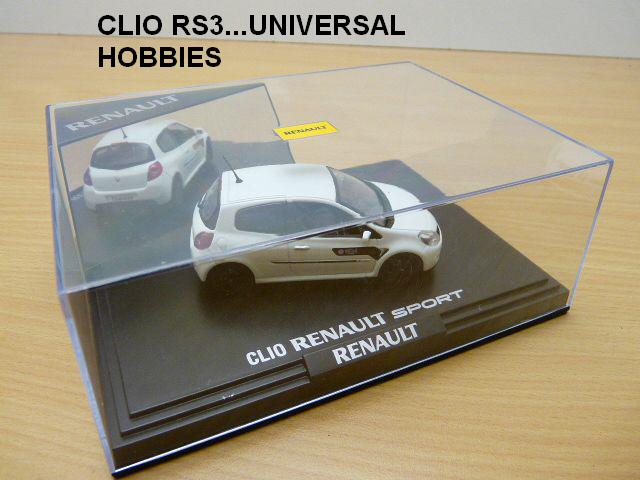 nouvelles sorties 1/43 ieme Clio_r10