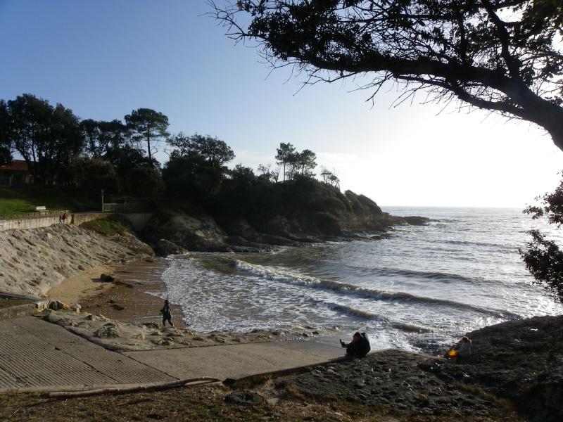 La côte et ses plages entre Royan et Nauzan par le GR4 Imgp5317