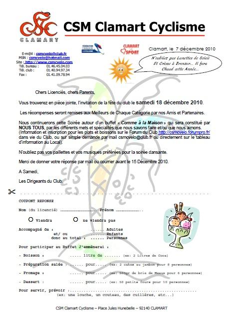 Fête du Club Cycliste Samedi 18 Décembre 2010 Nouvel26