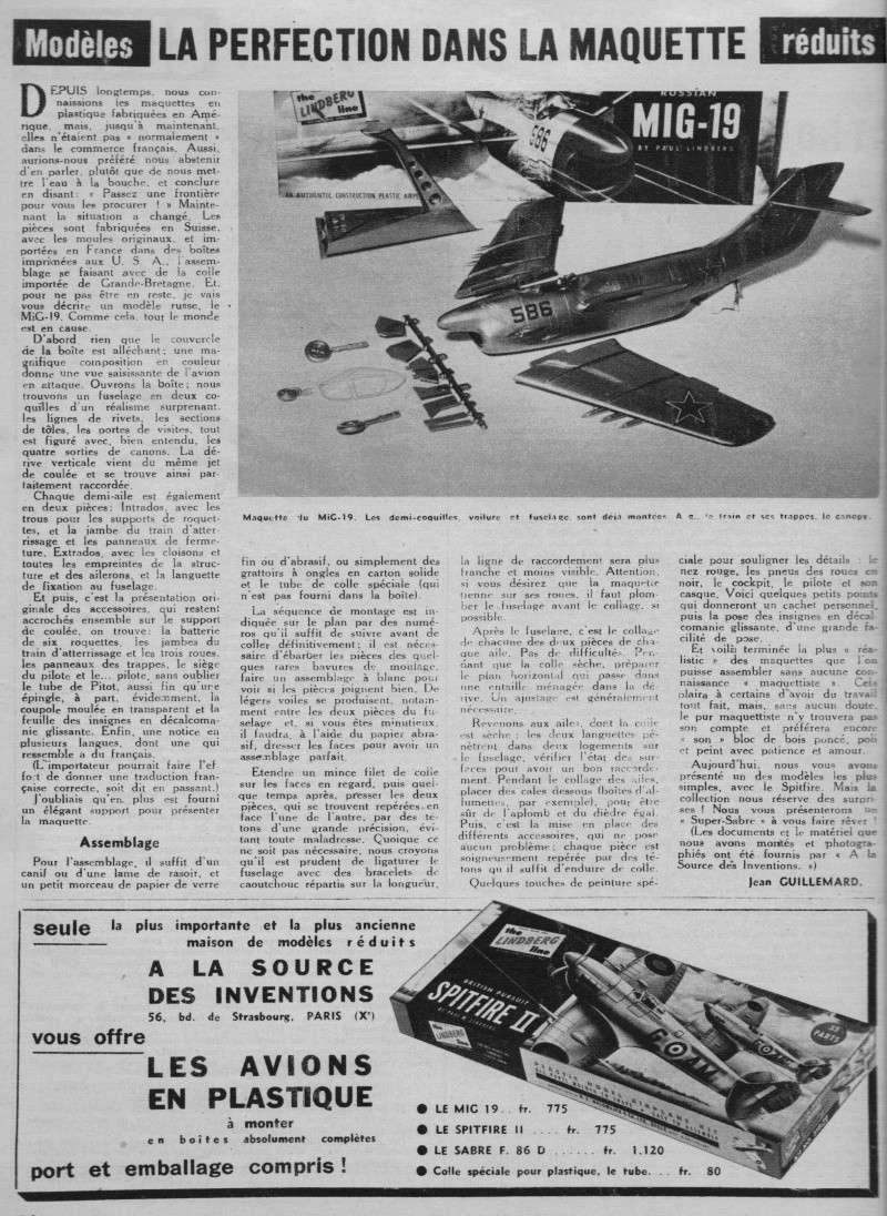"[Lindberg] - ""Russian MiG 19"" Avimag11"