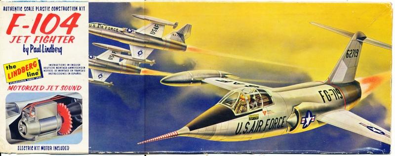Lockheed XF-104 Starfighter, Lindberg, 1/48 Img_0231