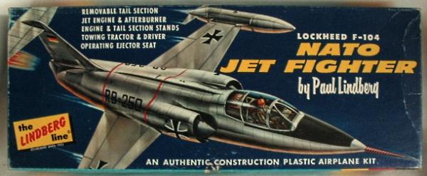 Lockheed XF-104 Starfighter, Lindberg, 1/48 Lindbe10