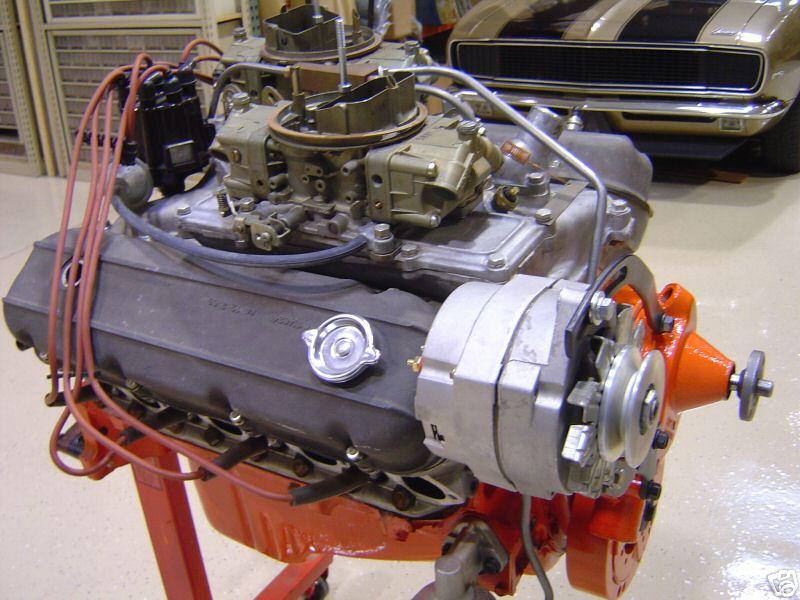 HISTORIQUE  du Small Block Chevrolet, la base moteur V8 la plus construite au monde Cd_310