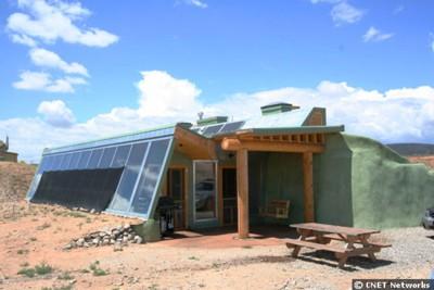 Une maison véritablement écologique Earths11