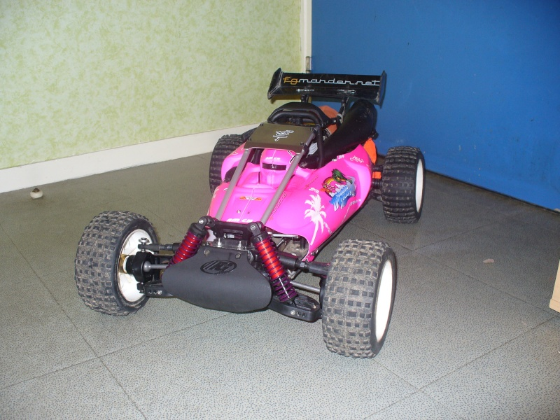 baja 4WD barbie girl lol Face10